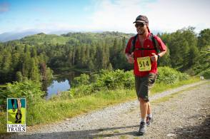 All smiles above Tarn Hows. Photo: James Kirby © Lakeland Trails