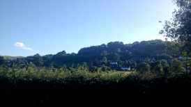 View upon arrival in Coniston