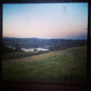 View from the loo in Hawkshead