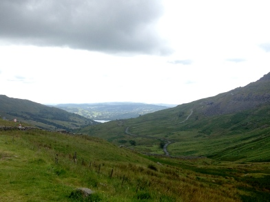View at Kirkstone Pass