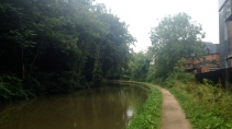 Canal Tow Path near Leamington Spa