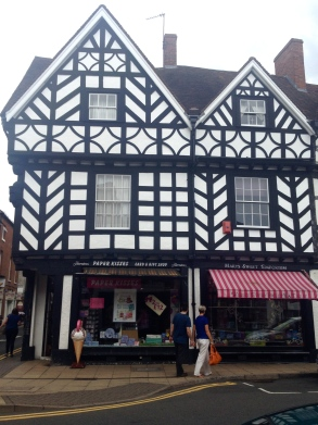Old English Buildings in Warwick