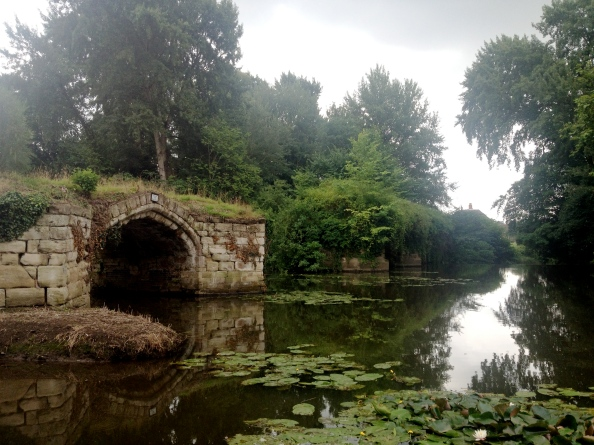 Ancient Bridge in the Mill Garden