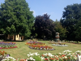 Jephson Gardens in Royal Leamington Spa