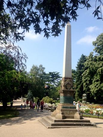 Jephson Gardens Obelisk