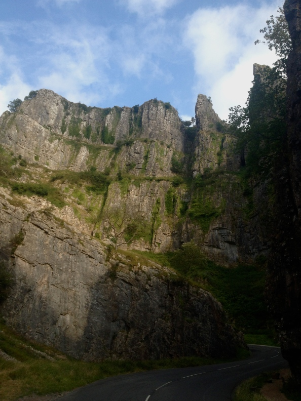 First view of Cheddar Gorge