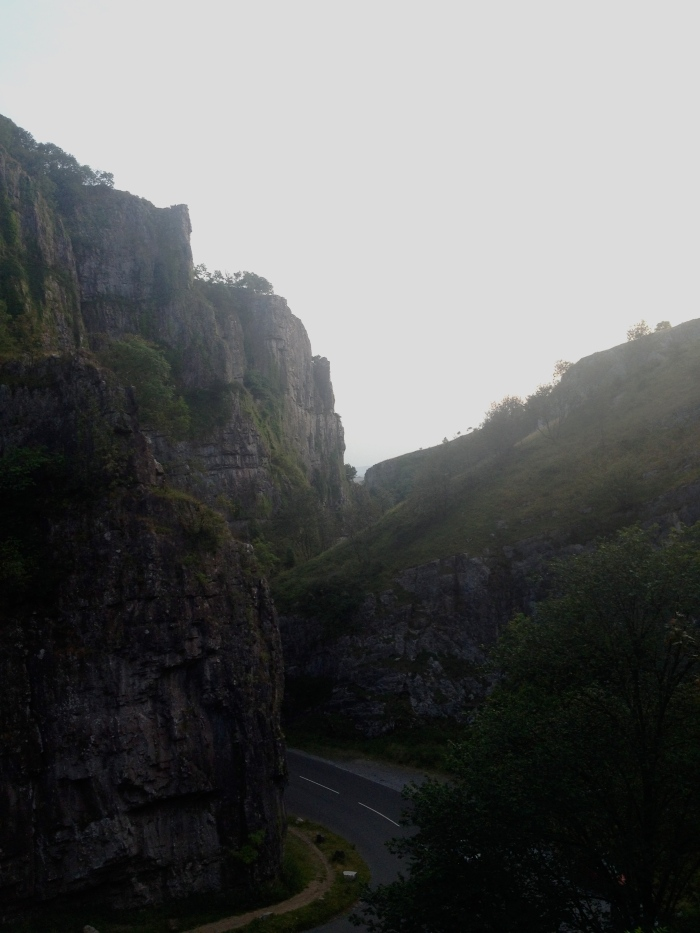 Sunset from Cheddar Gorge
