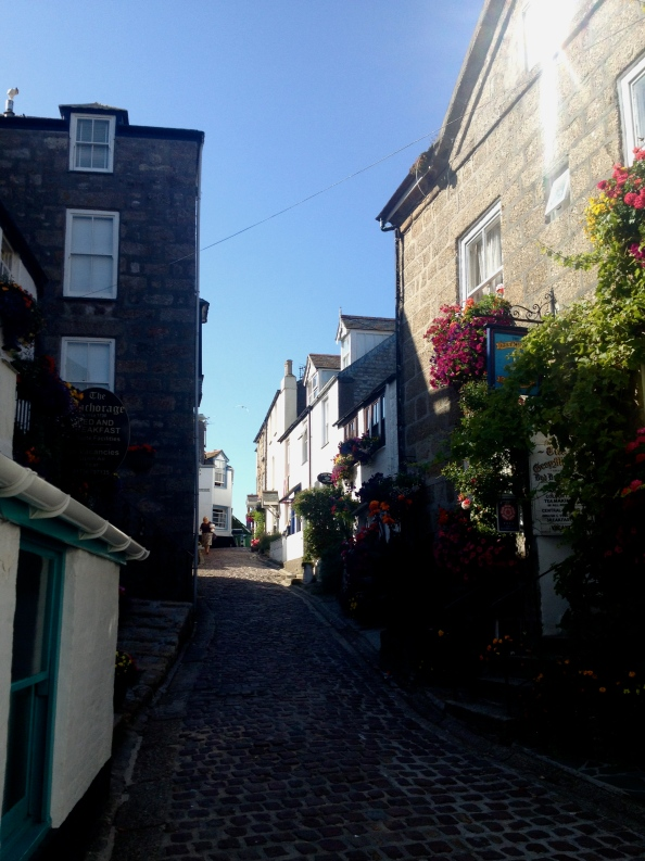 A classic street in St. Ives
