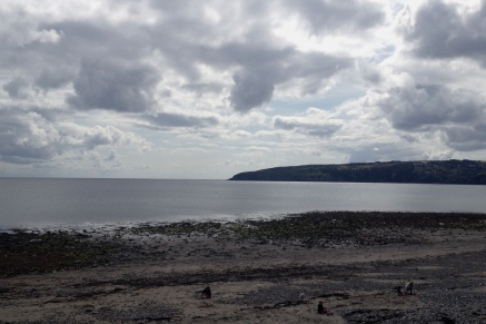 Beach at Ramsay, on the way to Laxey