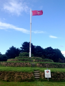 The Hill at Tynwald, where the longest continously running democracy still meets once a year