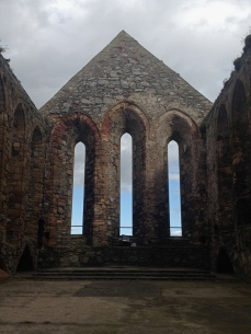 The Church at Peel Castle